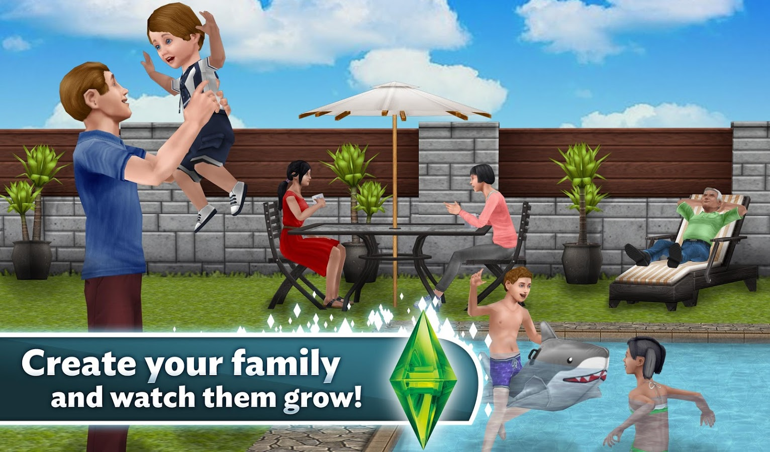 The Sims Free Play4