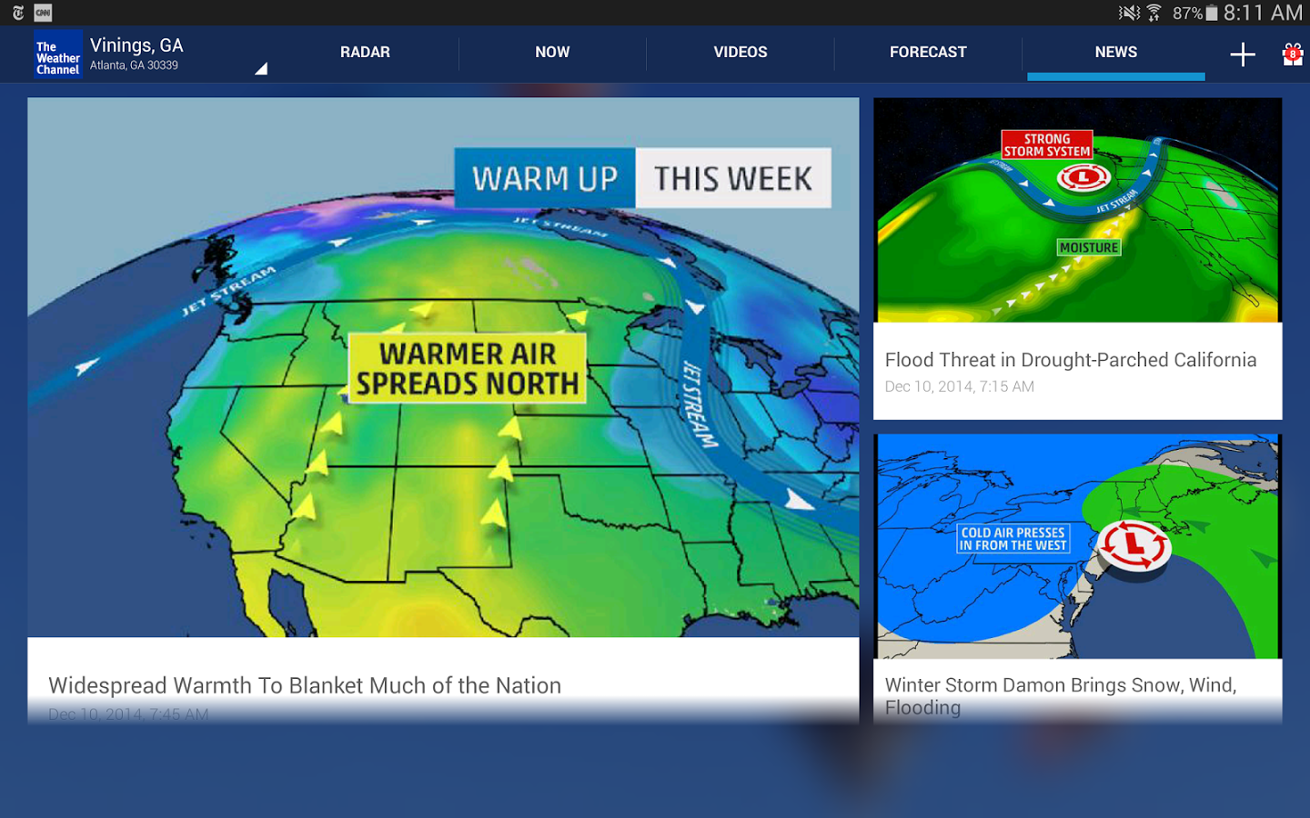 The Weather Channel12