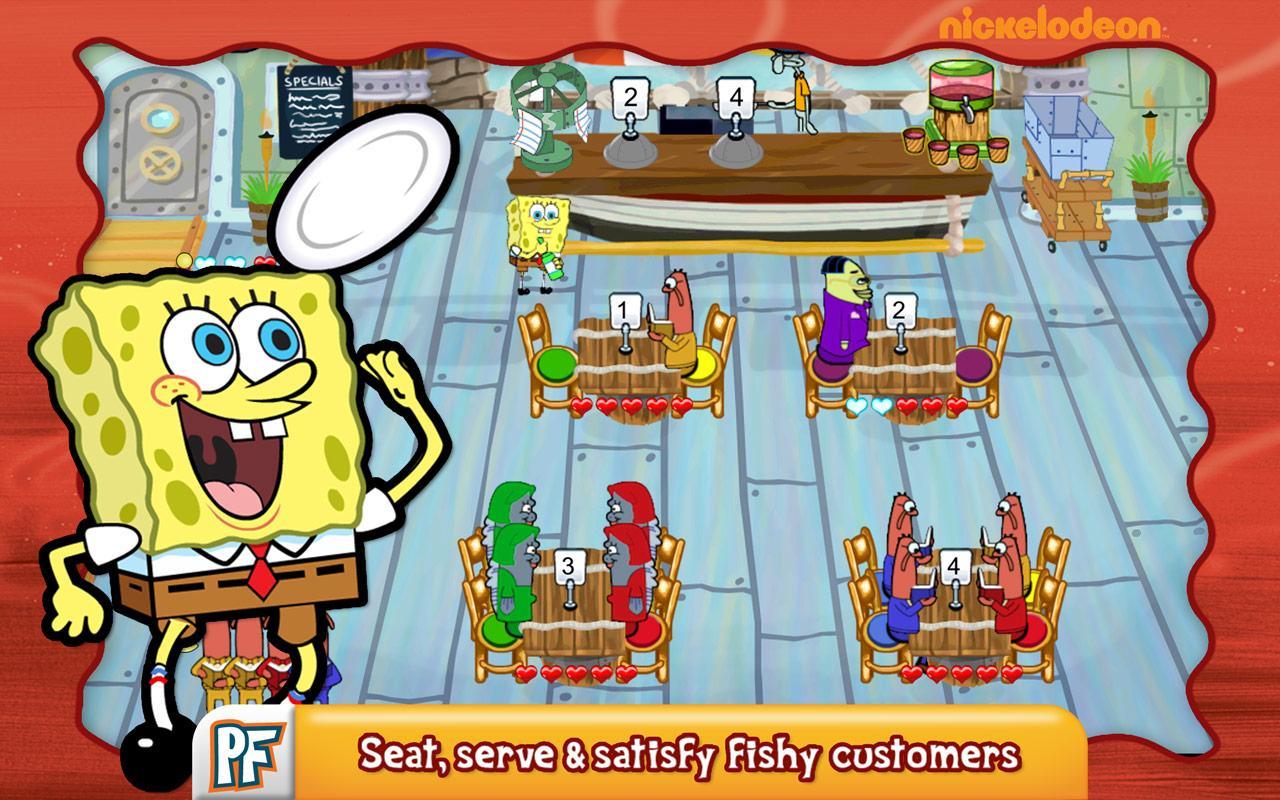 Spongebob Diner Dash2