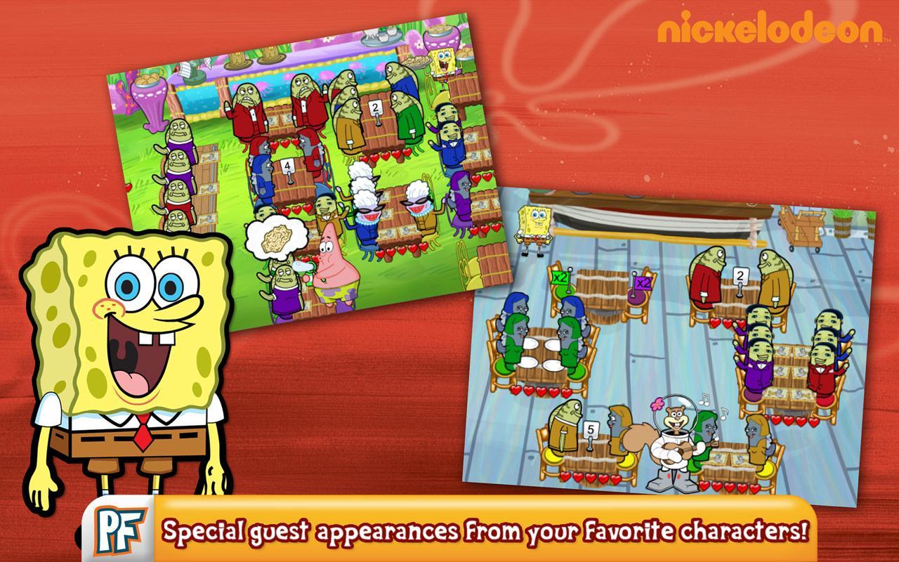 Spongebob Diner Dash3
