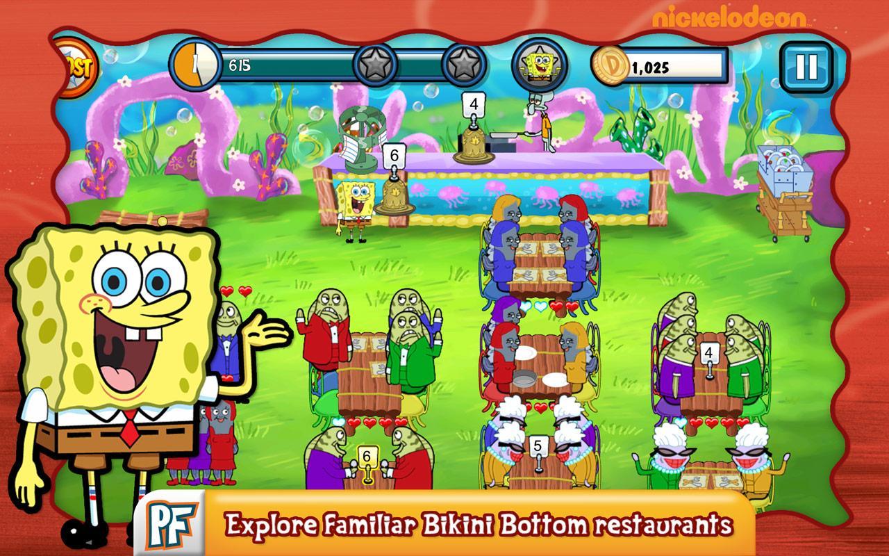 Spongebob Diner Dash4