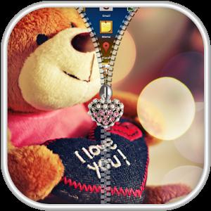 Teddy Bear Zipper Lock