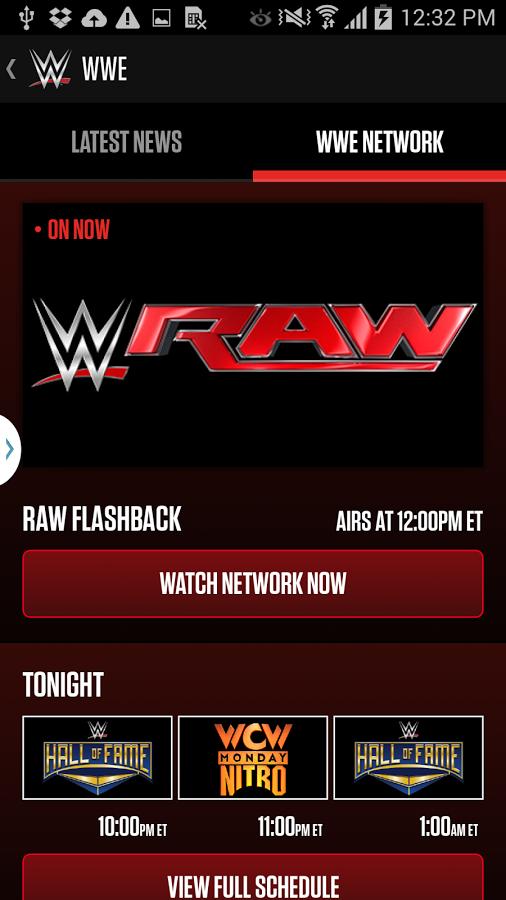 Wwe network app apk   WWE Network Apps  2019-02-28