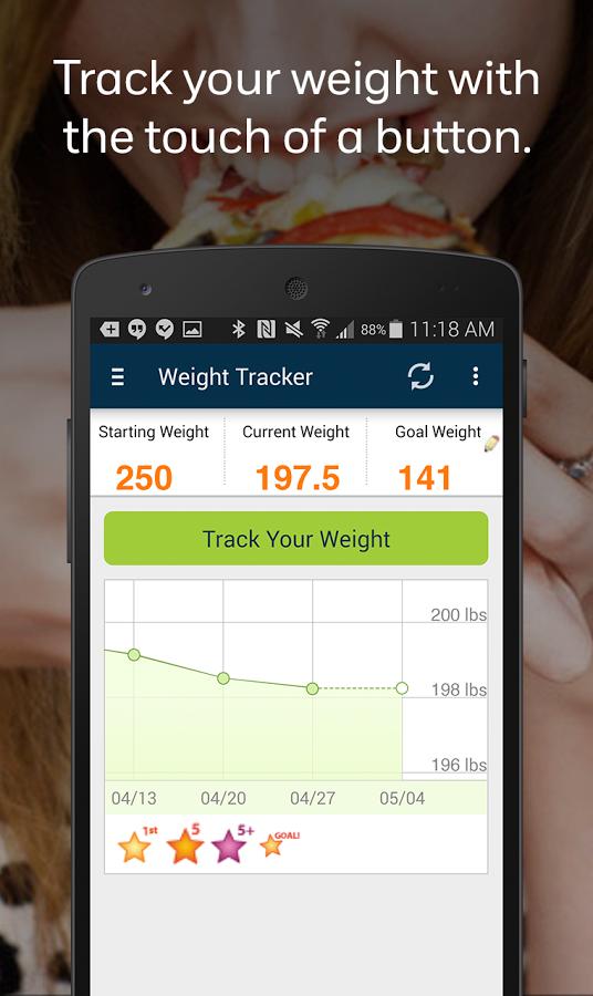Weight Watchers ähnliche App