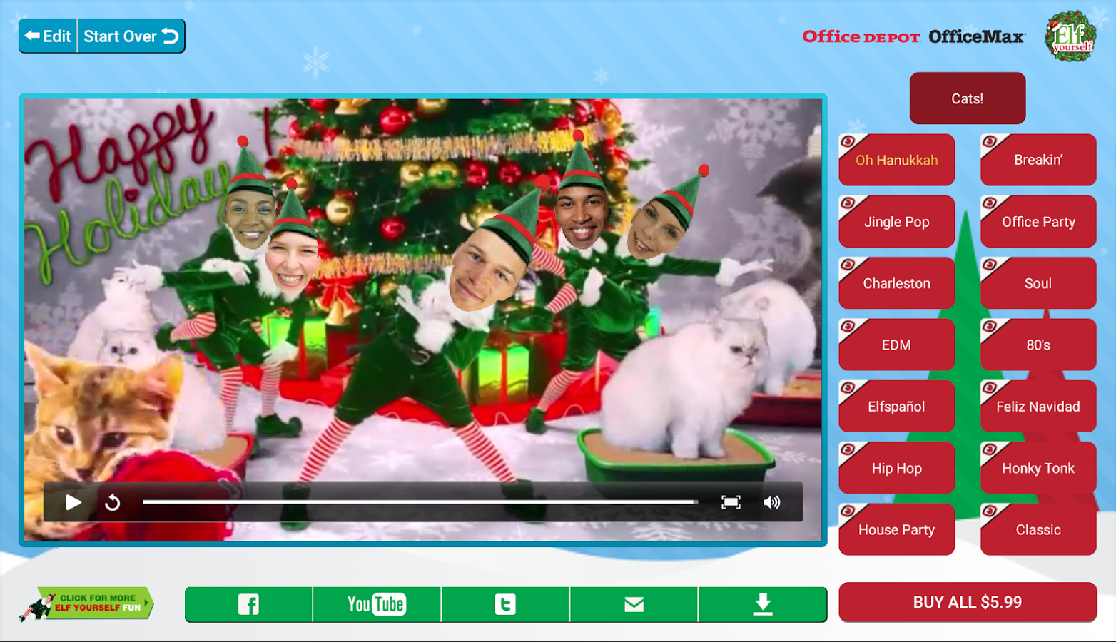 Elfyourself porno hentia tube