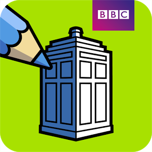 BBC Colouring Doctor Who