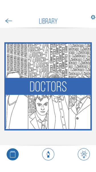 BBC Colouring Doctor Who11