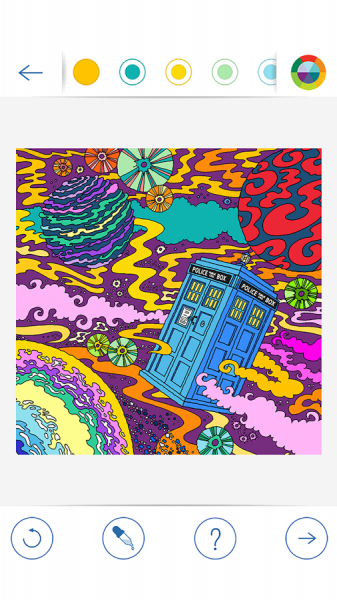 BBC Colouring Doctor Who12