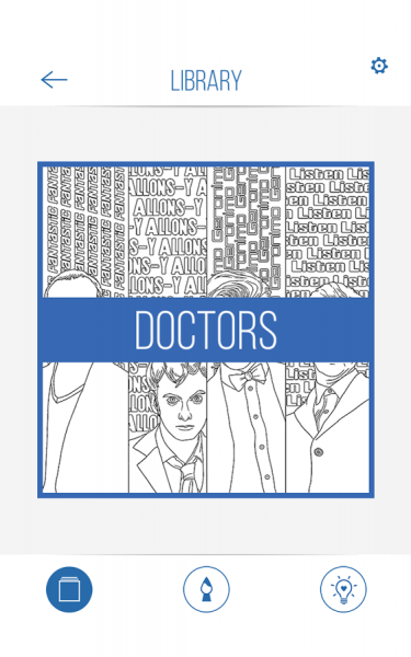 BBC Colouring Doctor Who6