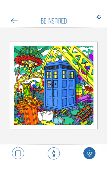 BBC Colouring Doctor Who9