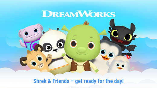 Wake Up With Shrek and Friends1